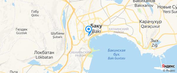 Баконд Сервис на карте Баку