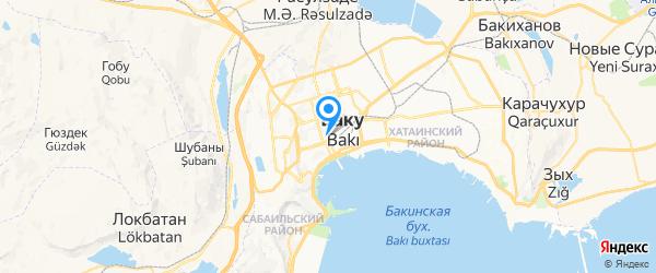 Azel service на карте Баку
