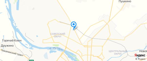 АЛЬЯНС-ПК на карте Омска