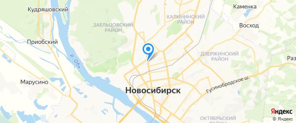 АйТи-Эксперт на карте Новосибирска