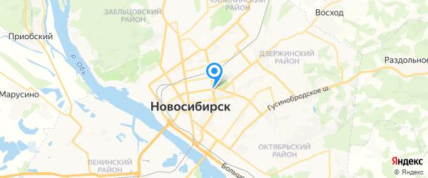 МТ Сервис на карте Новосибирска