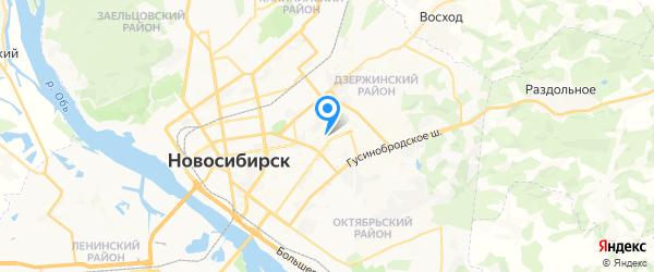 SOUND MASTER на карте Новосибирска