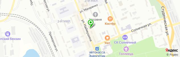 Торгово-монтажная компания Мебелик — схема проезда на карте