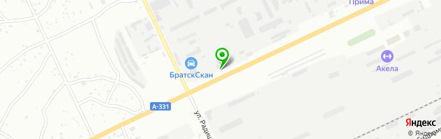 Автоцентр Bigмастер — схема проезда на карте