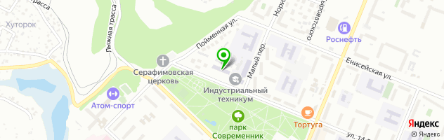 Canape — схема проезда на карте