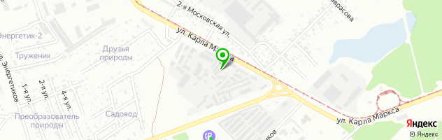 Автоэлектрик — схема проезда на карте