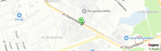 Мастерская по перетяжке салона АвтоАтелье — схема проезда на карте