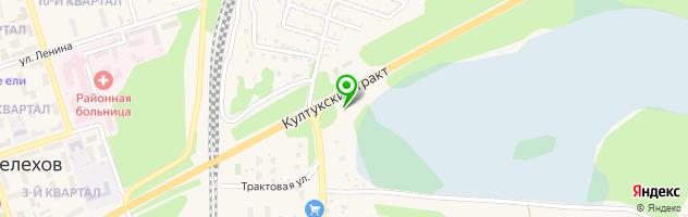 Торгово-ремонтная компания Байкал-АвтоТрак-Сервис — схема проезда на карте