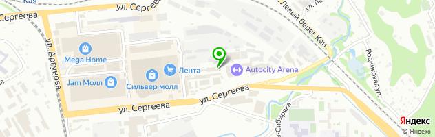 Автосервис Про.СТО — схема проезда на карте