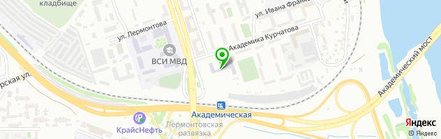 Средняя общеобразовательная школа №77 — схема проезда на карте