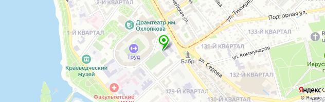 Средняя общеобразовательная школа №15 — схема проезда на карте