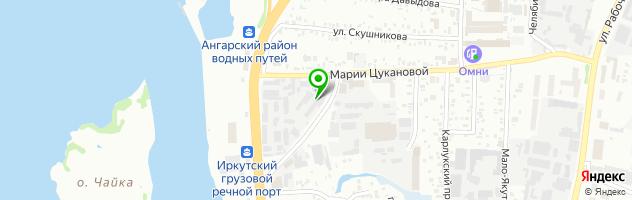 Автоателье Арт-мастер — схема проезда на карте