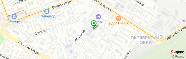 Средняя общеобразовательная школа №16 — схема проезда на карте