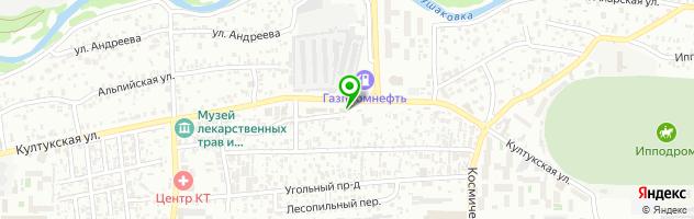 Автоцентр Автомагнит — схема проезда на карте