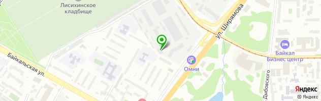 Торгово-производственная компания АвтоСтеклаСибири — схема проезда на карте
