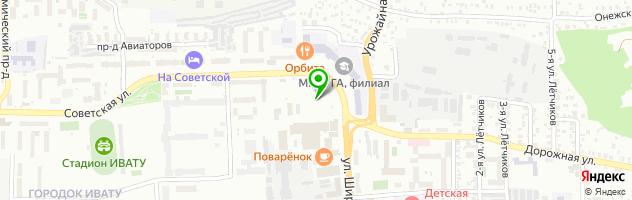 Медицинская клиника Линия жизни — схема проезда на карте