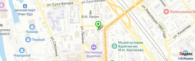 Ресторан Тэнгис — схема проезда на карте