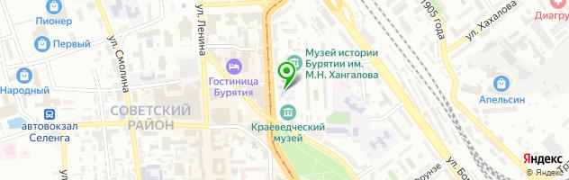 Модельное агентство Софьи Ни — схема проезда на карте