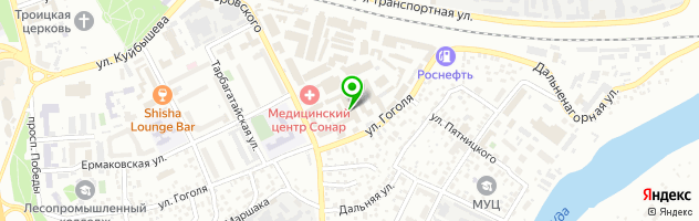 Оптовая фирма СладушкаПлюс — схема проезда на карте
