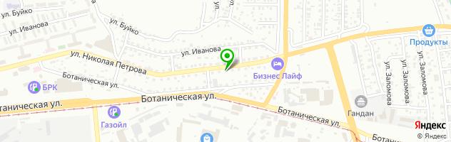 Типография Джоконда — схема проезда на карте