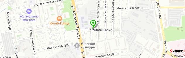 Забайкальская мемориальная компания — схема проезда на карте