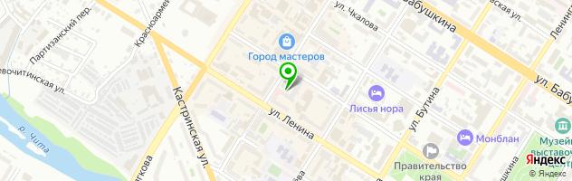 Фирменный магазин кондитерских изделий Восток — схема проезда на карте