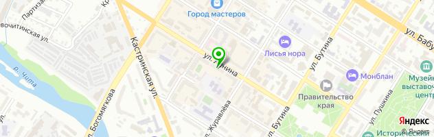 Сервисный центр Акира — схема проезда на карте