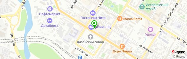 Кафе Grand-City — схема проезда на карте