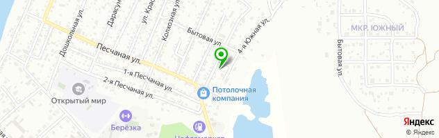 Детский сад №56 Малыш — схема проезда на карте