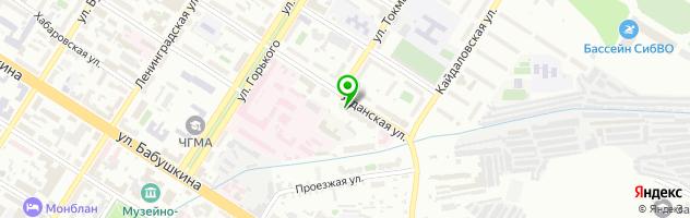 Авторазборка ZaBchasti — схема проезда на карте