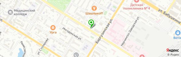 Центр охраны зрения — схема проезда на карте
