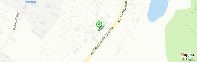 Магазин автотоваров СахаШинТорг — схема проезда на карте