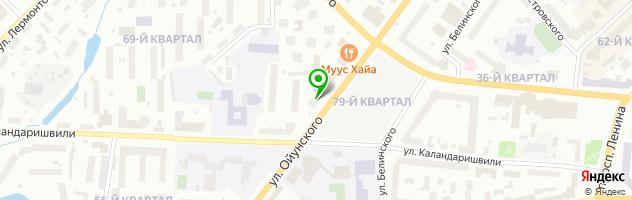 Караоке-клуб KTV — схема проезда на карте
