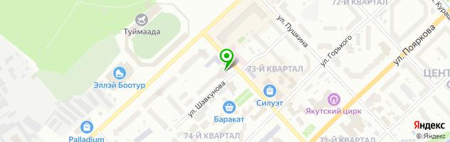 Рекламно-производственная компания Оригами — схема проезда на карте