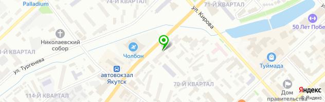 Медицинская клиника Diamond Clinic — схема проезда на карте
