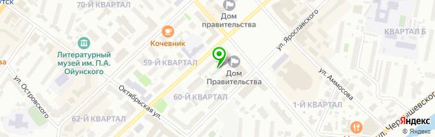 Внедренческая фирма Скрипка — схема проезда на карте