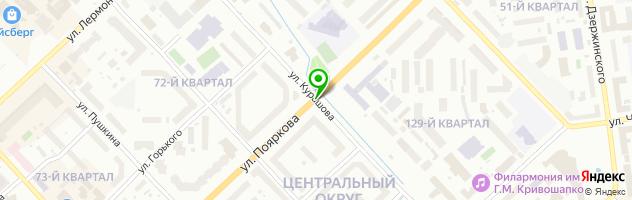 Многопрофильная компания DOMUS — схема проезда на карте