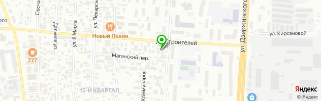 Торгово-сервисный центр Мобил1 — схема проезда на карте