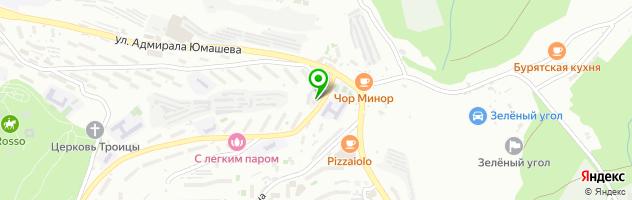 Автоцентр Hi Tech — схема проезда на карте