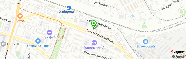 Караоке-кафе Рандеву — схема проезда на карте