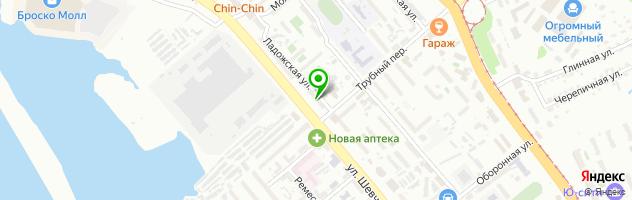 Аптека низких цен — схема проезда на карте