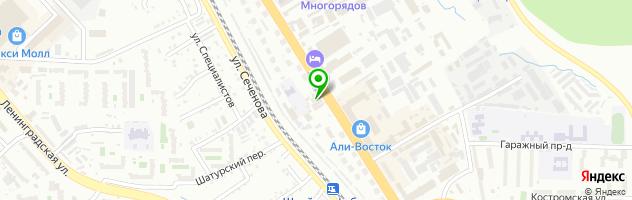 Торговая компания SubClub — схема проезда на карте