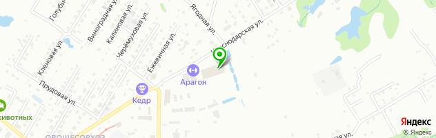 Ресторан Ковбой — схема проезда на карте