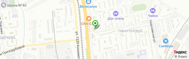 Хабаровская Оптика — схема проезда на карте