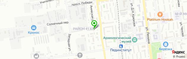 Автосервис АвтоДоктор — схема проезда на карте