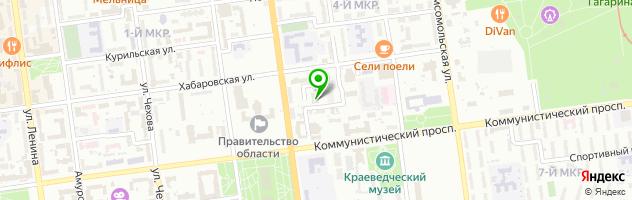 Гостиница Белка-Отель — схема проезда на карте