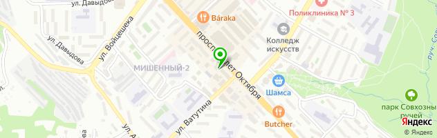 Сервисный центр АЙМАКС СЕРВИС — схема проезда на карте