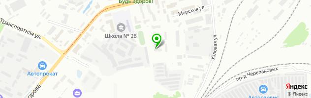 Автосервис Колорит — схема проезда на карте