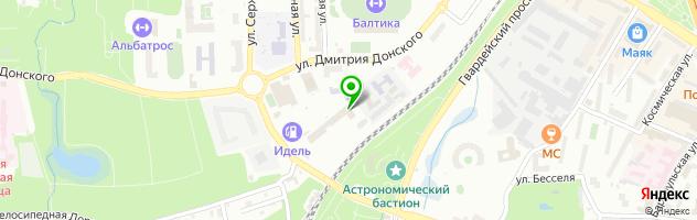 Кафе Карусель — схема проезда на карте