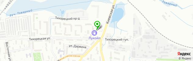 TRADE-IN AVTO — схема проезда на карте